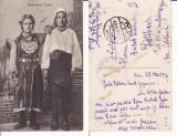 Port popular (Bucovina)-  tipuri-edit. Cernauti-cenzura militara WWI, WK1, Circulata, Printata