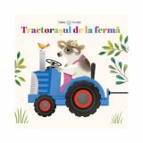 Carte cu puzzle Editura Litera, Tractorasul de la ferma