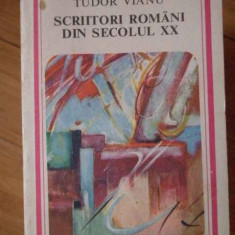 Scriitori Romani Din Secolul Xx - Tudor Vianu ,304515