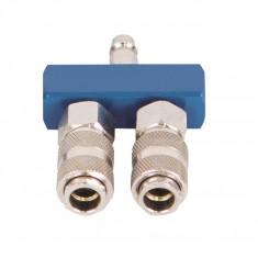 Distribuitor aer comprimat cu 2 iesiri Scheppach SCH7906100722 1 4