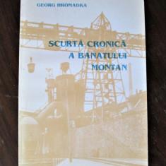 Monografie Banat: Georg Hromadka, Scurta Cronica a Banatului Montan