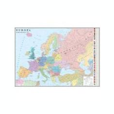Europa. Harta politica 1600x1200mm (GHEP160-L)