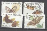 Sao Tome e Principe 1991 Butterflies, used M.265