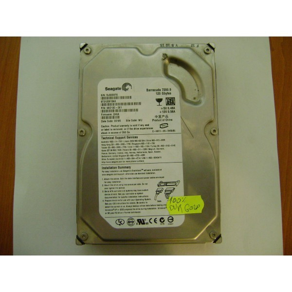 "HARD-Disk SATA 3,5"" SEAGATE 120GB"
