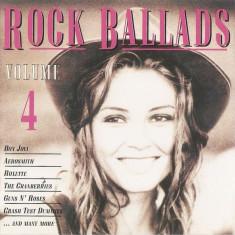 CD Rock Ballads Volume 4, original: Aerosmith, Bon Jovi, Roxette