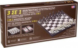 Joc de Table Sah Dame suprafata magnetica 30x 30