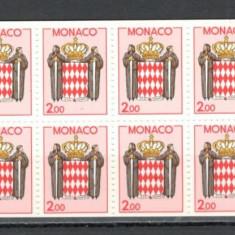 Monaco.1988 Stema carnet  MM.874