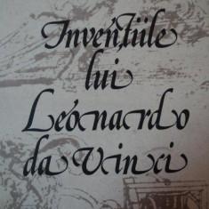 INVENTIILE LUI LEONARDO DA VINCI- CHARLES GIBBS SMITH, BUC.1982