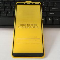 Folie sticla securizata 9D FULL GLUE pentru Nokia 3.1 / 5.1 / 6.1 / 7.1