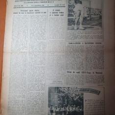 sportul popular 2 septembrie 1954-atletism,rugby,tir,polo,handbal