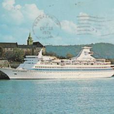 SUA,1975 , Vapoare , carte postala circulata
