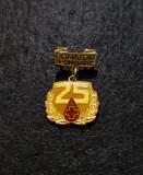 Insigna rara Donator de onoare - 25 - tema merite , evidentiat RSR