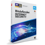 Licenta Retail BitDefender Internet Security 2020 10 Dispozitive 1 An pentru Windows
