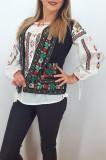 Cumpara ieftin Vesta brodata cu model traditional Suzi 2