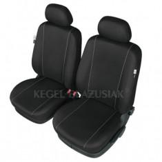 Set huse scaun model Hermes Black pentru Mitsubishi Pajero, set huse auto Fata