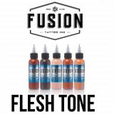 Set Fusion Flesh Tone 5 tusuri 30 ml