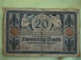 20 Mark / Marci 1915 GERMANIA - Lot de 2 Bucati