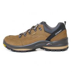 Pantofi Bărbați Drumetie Piele impermeabili Grisport Tegmine Gritex Vibram