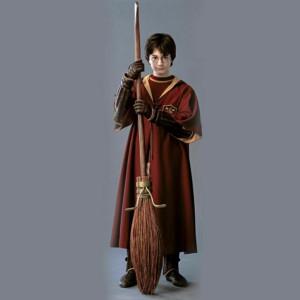 Roba / Capa / Mantie - HARRY POTTER Jocul Quidditch - Gryffindor