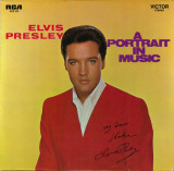 Disc Vinil - Elvis Presley – A Portrait In Music