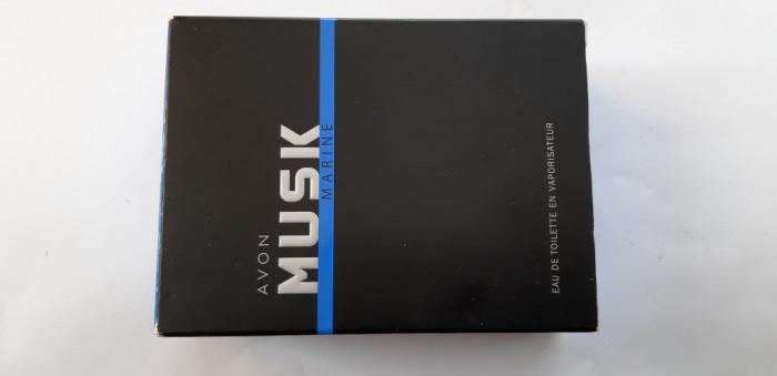 APA DE TOALETA  Musk Marine 75 ml - AVON
