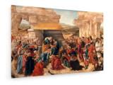 Tablou pe panza (canvas) - Sandro Botticelli - Adoration of the Kings