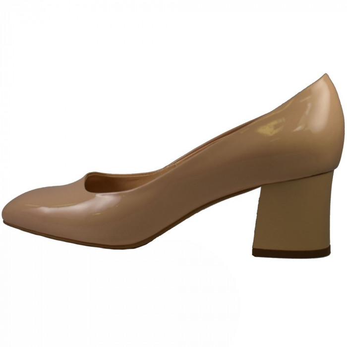Pantofi dama, din piele naturala, marca Botta, 956-03-05, nude , marime: 37