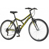 Bicicleta MTB 26 inch hardtail, 18 viteze Power, cadru otel, V-brake, Explorer Legion