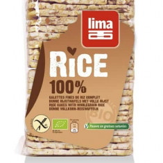 Rondele de orez expandat cu sare bio 130g