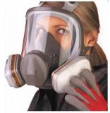 Cumpara ieftin Set masca de protectie respiratorie 3M 6800 + filtre + prefiltre + capace