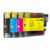 Bro LC1100 LC980 XL Y ink, Brother