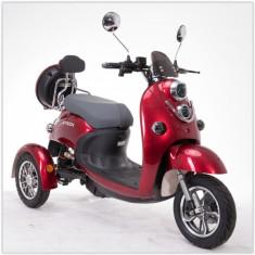 Tricicleta electrica sport 3 roti 250W 20Ah Plumb-Gel (Acid) ZT-63 TRILUX ROSU