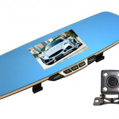 Camera Auto iUni Dash B600 Oglinda, Dual Cam, Full HD, LCD 4.3 inch, Foto, Playback