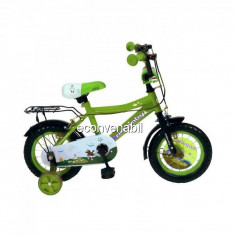 Bicicleta Copii 12 Inch cu Roti Ajutatoare RichBaby