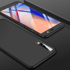 Husa 360 Samsung A7 (2018) 4 culori, Negru