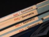 ALEF-4 TITLURI GEOMETRIE-1=PLAN AFIN-PLAN VERTICAL-2=GEOMETRIE VECTORIALA+AFINA, Alta editura