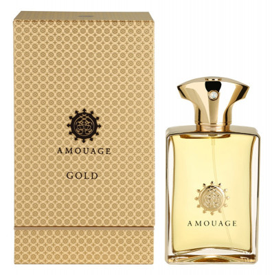Gold, Barbati, Apă de parfum, 100 ml, Amouage foto