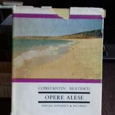 OPERE ALESE - CONSTANTIN BRATESCU