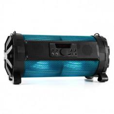 Auna Thunderstorm S Mobile Bluetooth Difuzor 60W max. LED-uri USB baterie SD FM APP