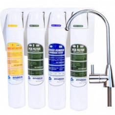 Sistem de filtrare apa cu osmoza inversa HQ 7-4F-RO by Hyundai Waco.