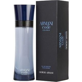 Armani (Giorgio Armani) Code Colonia Eau de Toilette bărbați 125 ml