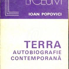Terra: autobiografie contemporana