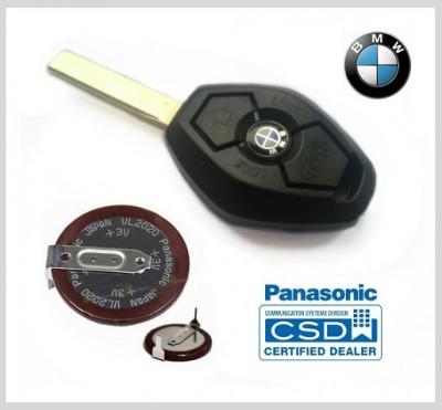 Baterie acumulator cheie BMW E36 E46 E39 E60 E38 E65 E66 Z3 Panasonic foto