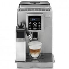 Espressor automat DeLonghi Intensa Cappuccino ECAM 23.460.S, 1450 W, 15 bar, 1.7 l, carafa lapte, display LCD, argintiu