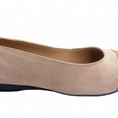Balerini dama din piele naturala casual, sport - PHMBEJV