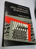 ARTA POPULARA ROMANEASCA - TESATURI DECORATIVE - MARINA MARINESCU