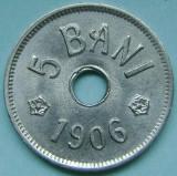 ROMANIA, 5 BANI 1906 J_aUNC-UNC * cod 126