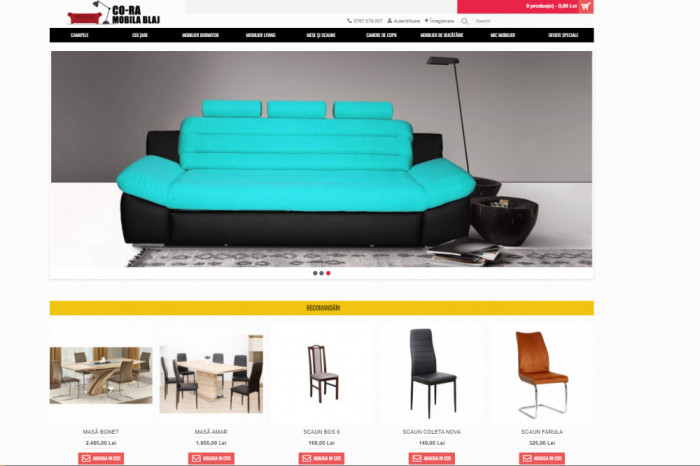 Creare website de prezentare/ Magazin Online/ Blog