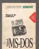 C9365 MICROSOFT MS-DOS - MANUAL DE UTILIZARE