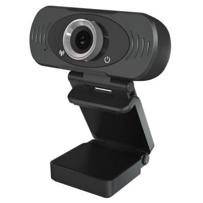 Camera web Xiaomi Imilab W88S Full HD, conexiune USB, microfon incorporat, negru foto